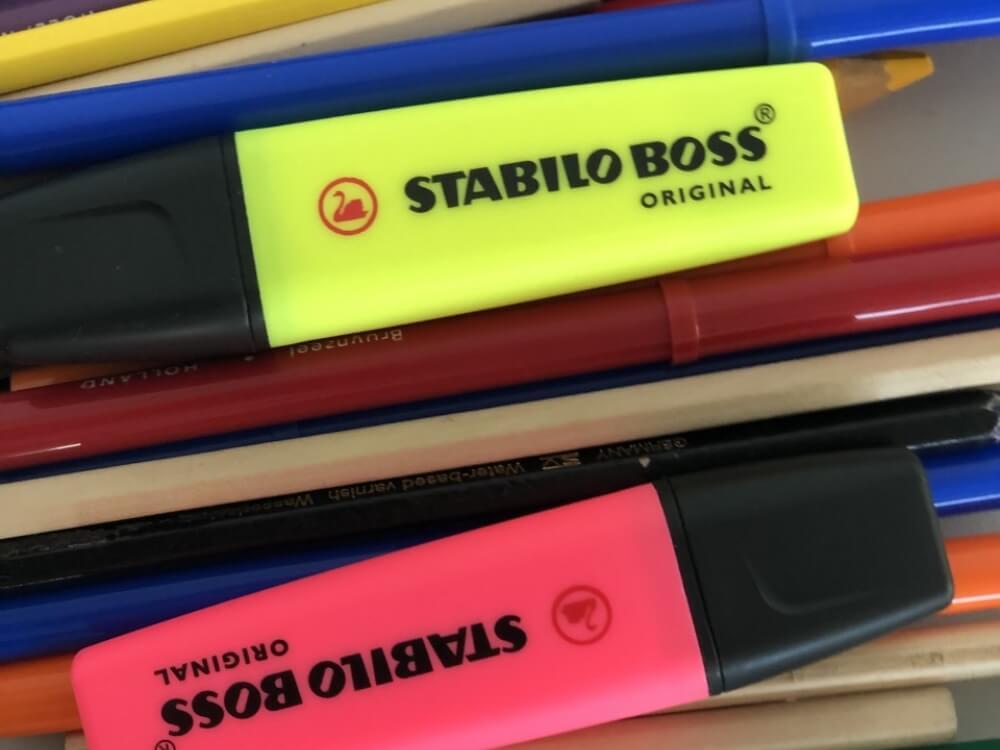 Stabilo Boss Original markeerstift Roze