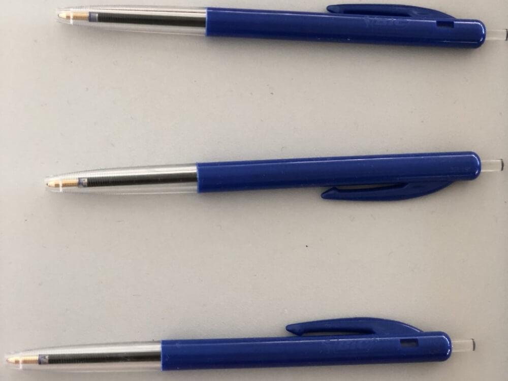 Bic M10 balpen blauw