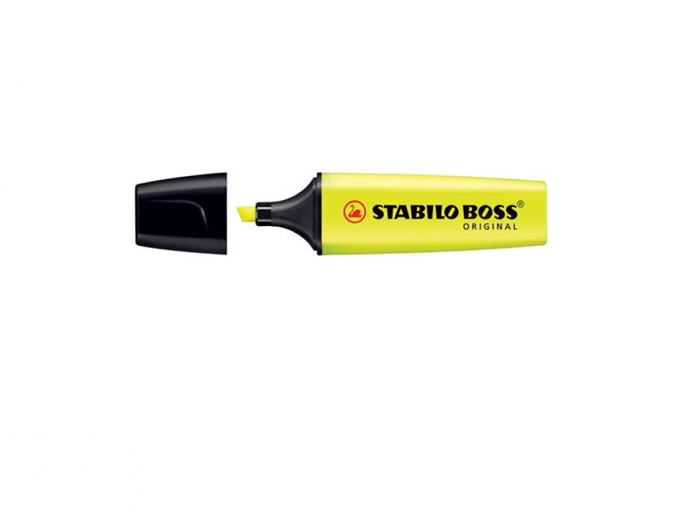 Stabilo Boss Original markeerstift geel
